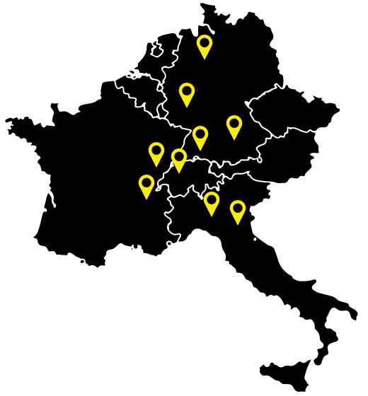 Karte Spedition Internationale Lieferung